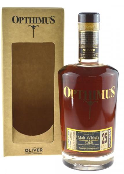 Opthimus 25 Anos Malt Whisky Finish Rum