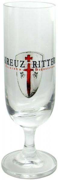 Kreuzritter Kräuter-Glas 2cl mit Logo