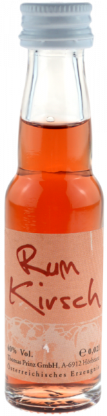 Prinz Rum-Kirsch 0,02l Miniatur - Likör aus Österreich