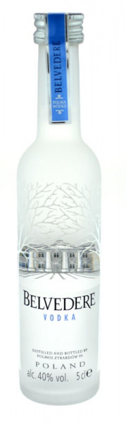 Belvedere Vodka Miniatur