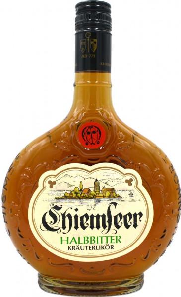Chiemseer Halbbitter Kräuterlikör 0,7l - Original Rezeptur
