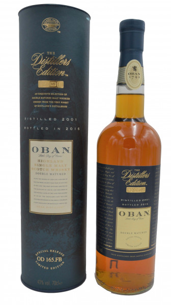 Oban 2001/2016 Distillers Edition