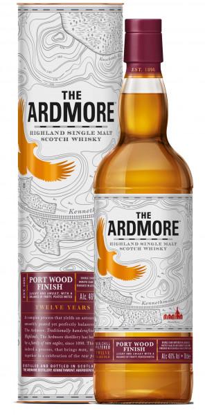 The Ardmore 12 Jahre Port Wood Finish 0,7l inkl. Geschenkdose - Highland Single Malt Scotch Whisky