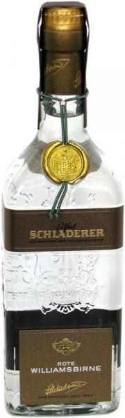 Schladerer Roter Williams-Birnebrand Obstbrand