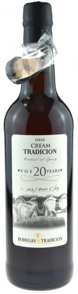 Bodegas Tradicion Cream VOS 20 Years 0,75l
