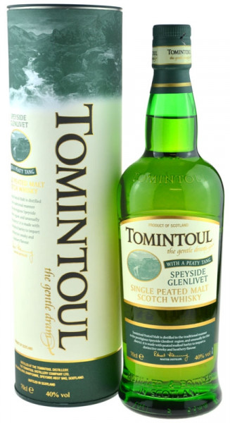 Tomintoul Peaty Tang - The Gentle Dram