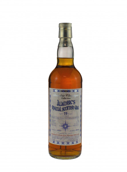 Rarität: Special Scottish Gin Jahrgang 1997, 19 Jahre alt, Alambic Classique 0,7l