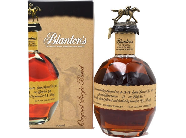 Blanton's Original Single Barrel 0,7l mit 46,5% vol. - Bourbon Whiskey
