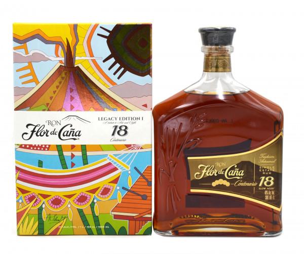 Flor de Cana 18 Jahre Rum Legacy Edition I