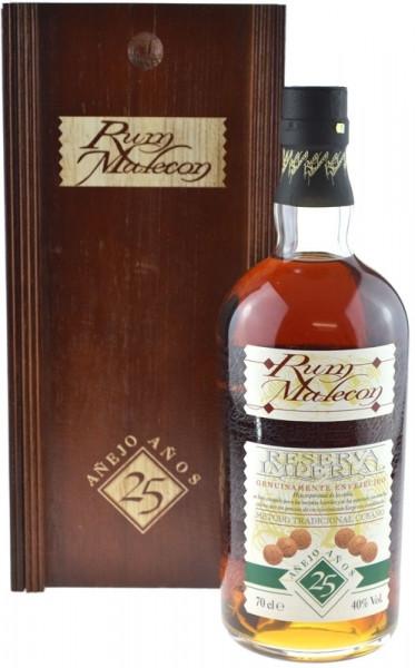 Malecon 25 Jahre Reserva Imperial - brauner Rum