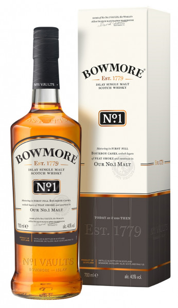 Bowmore No. 1 Bourbon Cask