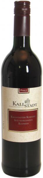 Kallstadt Spätburgunder Rotwein