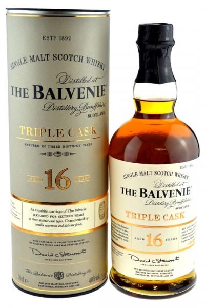 Balvenie Whisky 16 Jahre Triple Cask