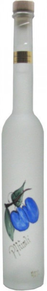 Prinz Pflümli ( Pflaume ) 0,35l in Fruchtflasche - Spirituose aus Österreich