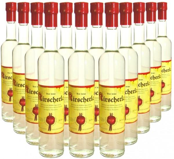 18 Flaschen Prinz Kirscherla 0,5l aus Österreich - 3,5% Rabatt