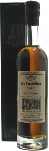 Armagnac De Castelfort Jahrgang 1960 - 0,2l incl. Geschenkkarton