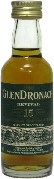 Glendronach 15 Jahre Revival Miniatur