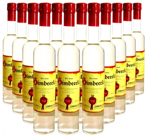 12 Flaschen Prinz Himbeerla 0,5l - Spirituose aus Österreich