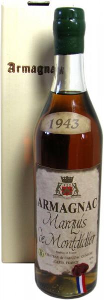 Marquis de Montdidier Jahrgang 1943 Armagnac