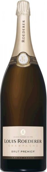 Louis Roederer Brut Premier Champagner Doppelmagnumflasche