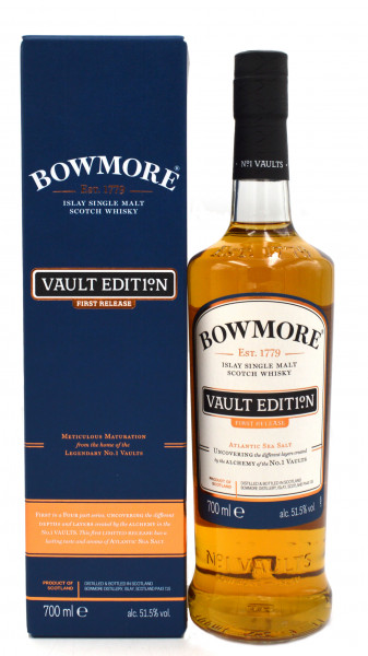 Bowmore Vault Edit1°N First Release