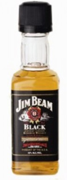 Jim Beam Black Miniatur