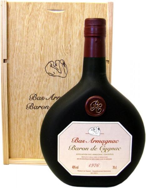 Armagnac Baron de Cygnac Jahrgang 1976