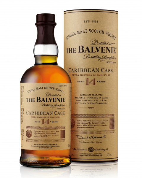 Balvenie Caribbean Cask 14 Jahre