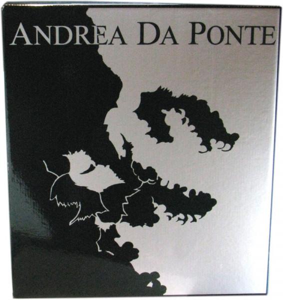 Grappa di Prosseco Andrea Da Ponte Vecchia + 4 Gläser und Geschenkpackung