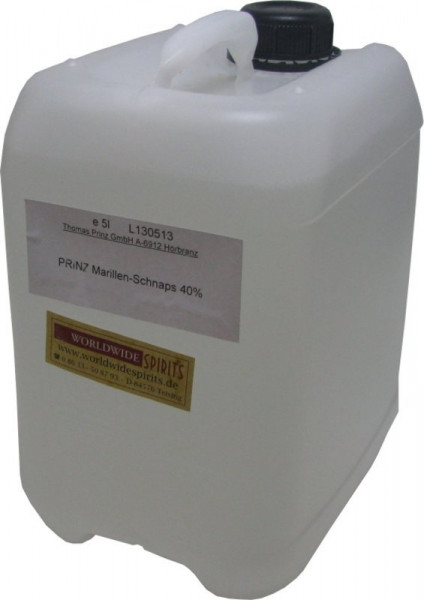 Prinz Marillenschnaps 5 Liter Kanister Spirituose aus Österreich