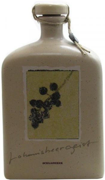 Schladerer Johannisbeergeist Keramikflasche 0,5l