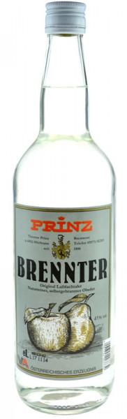 Prinz Brennter Schnaps 1,0l selbstgebrannter Obstler aus Österreich