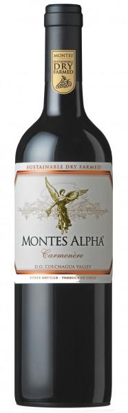 Montes Alpha Carmenère Rotwein