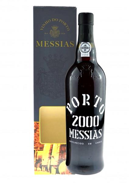 Rarität: Port Messias Colheita 0.75l Jahrgang 2000 mit Geschenkpackung - Portwein