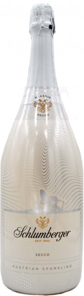 Schlumberger White Secco Magnumflasche