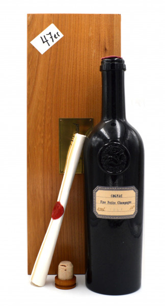 Lheraud Cognac Jahrgang 1947 Fine Petite Champagne