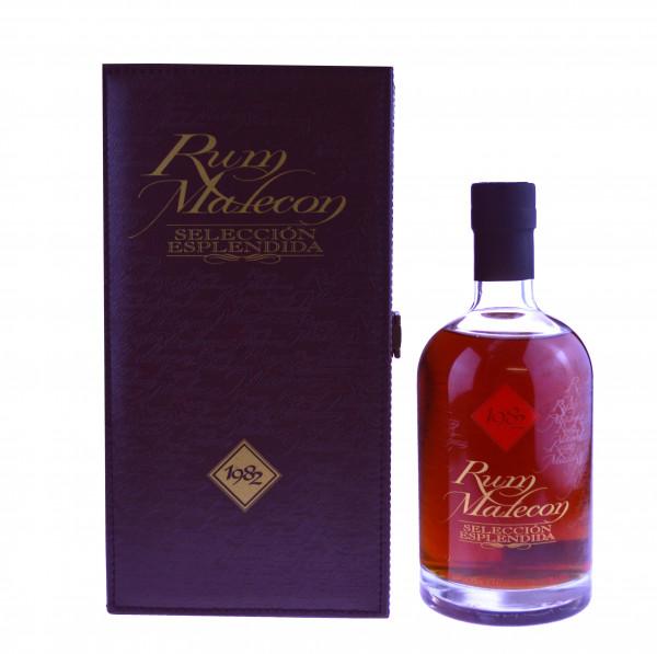 Malecon Rum Seleccion Esplendida Jahrgang 1982 incl. Lederkassette