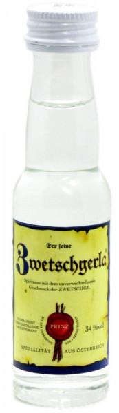 Prinz Zwetschgerla 0,02l Miniatur