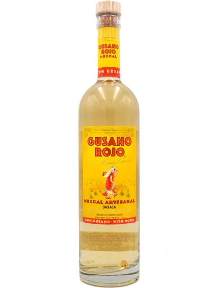 Tequila Mezcal Gusano Rojo
