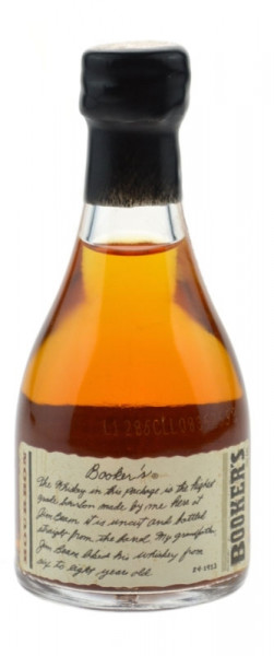 Booker's Bourbon Whiskey 0,05l - 64,3% vol. Miniatur - Kentucky Straight Bourbon Whisky