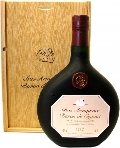 Armagnac Baron de Cygnac Jahrgang 1972