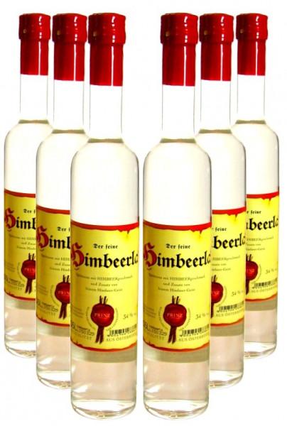 6 Flaschen Prinz Himbeerla 0,5l - aus Österreich