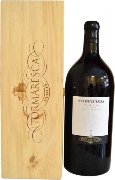 Torcicoda Primitivo Salento Großflasche Rotwein