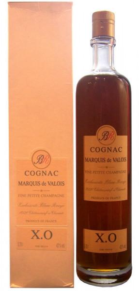 Cognac X.O Marquis de Valois 50 - 95 Jahre alt mit Geschenkpackung