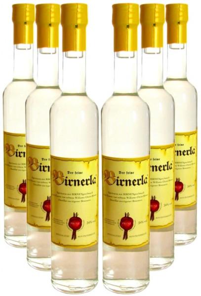 6 Flaschen Prinz Birnerla ( Birnenschnaps ) 0,5l aus Österreich