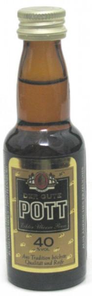 Pott Rum Miniatur