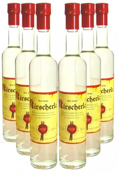 6 Flaschen Prinz Kirscherla 0,5l aus Österreich