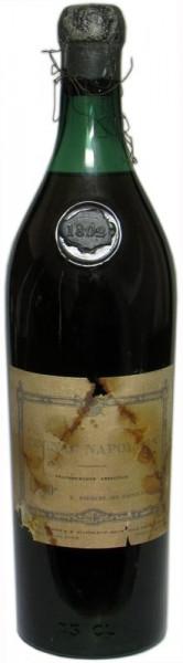 Cognac Piercel Napoleon Jahrgang 1802 Grande Fine Champagne 0,7l, über 200 Jahre alt