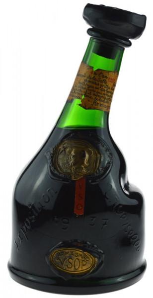 Armagnac Saint Vivant Jahrgang 1937 1,5l Grossflasche mit Geschenkpackung