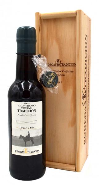 Bodegas Tradicion Amontillado Viejísimo Tradicion Sherry 0,375l